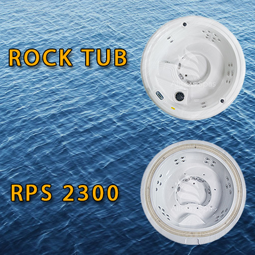 Allseas Spas Rock Tub